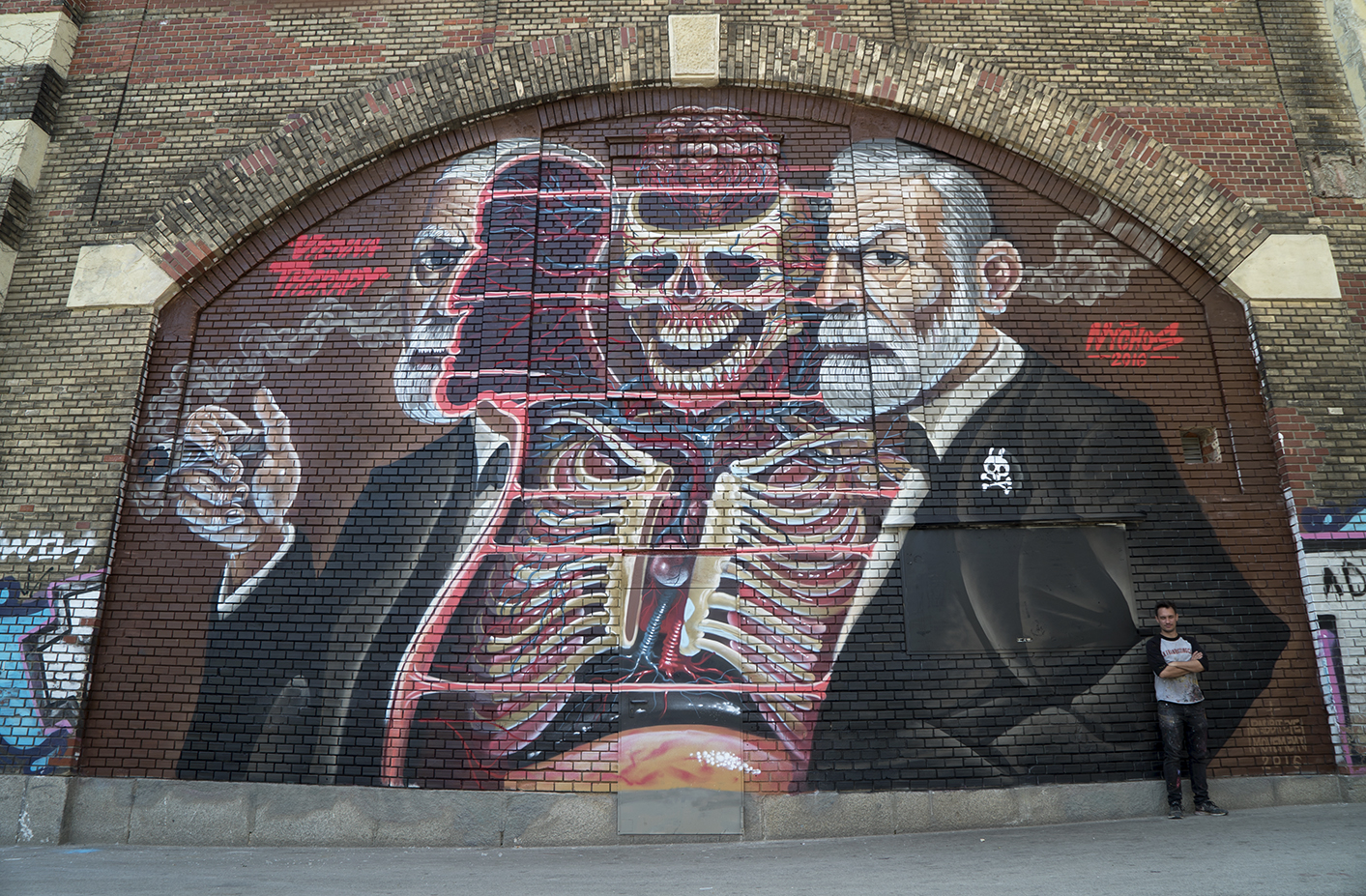 Nychos and his muse.