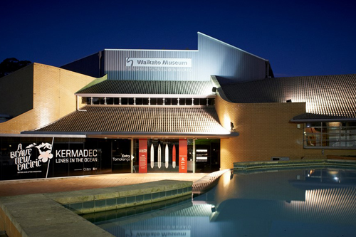 WAIKATO MUSEUM   Waikato Museum Te Whare Taonga o Waikato is a regional museum located in Hamilton, New Zealand. The Museum manages ArtsPost, a shop and gallery space for New Zealand art and design.