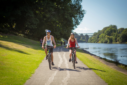 WAIKATO RIVER TRAILS   The Waikato River Trails bring your senses to life as you connect with nature following New Zealand's longest river, the mighty Waikato.