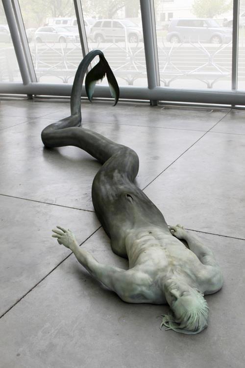 Dying Merman  by Cameron Stalheim