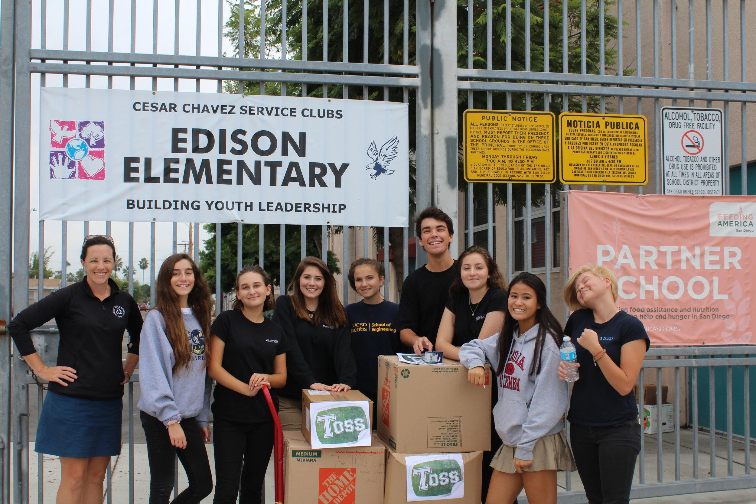 Edison Elementary School - 2016 Recipient School