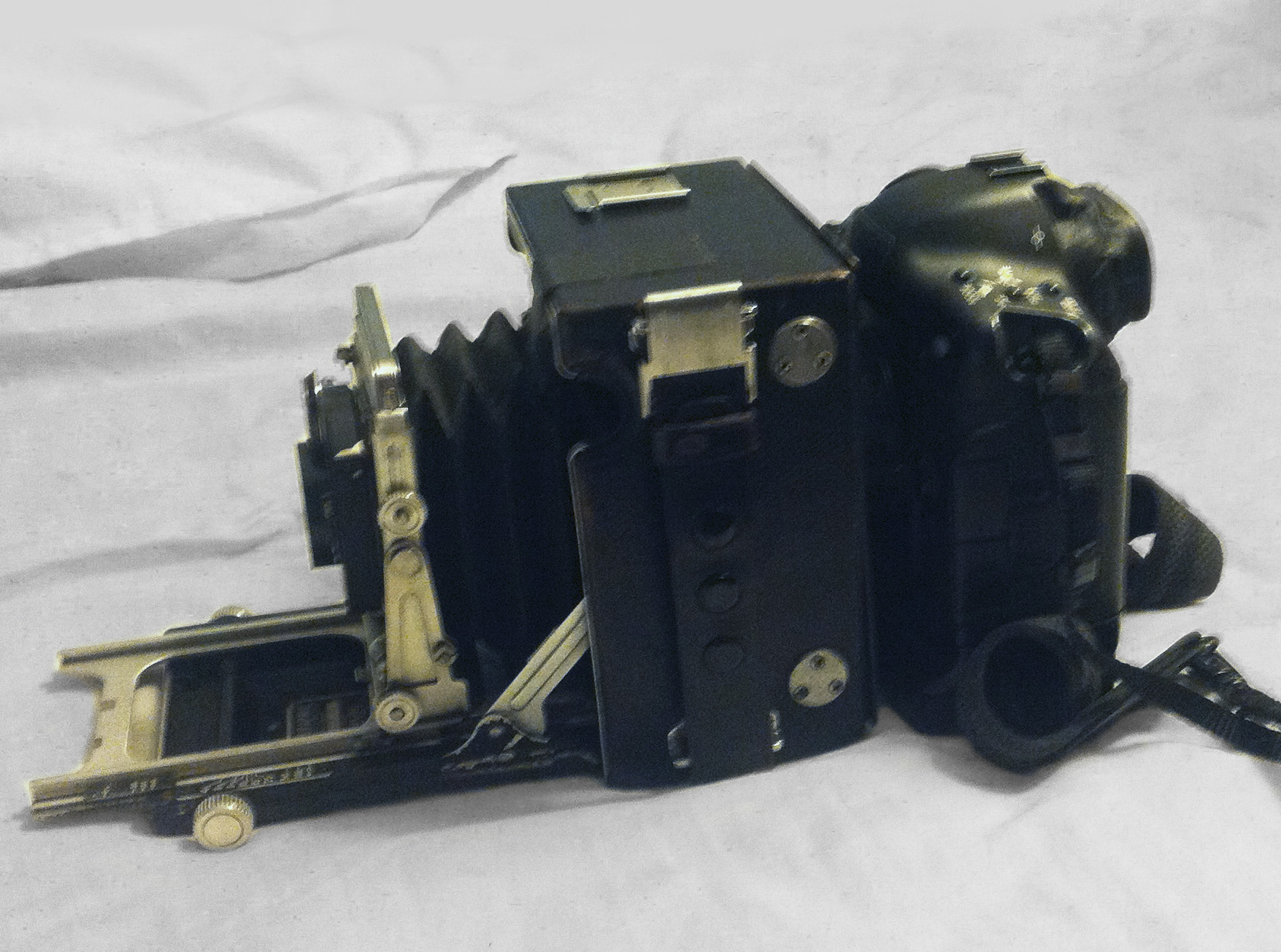 The 2nd view camera prototype. All gallery above was shot with this rig