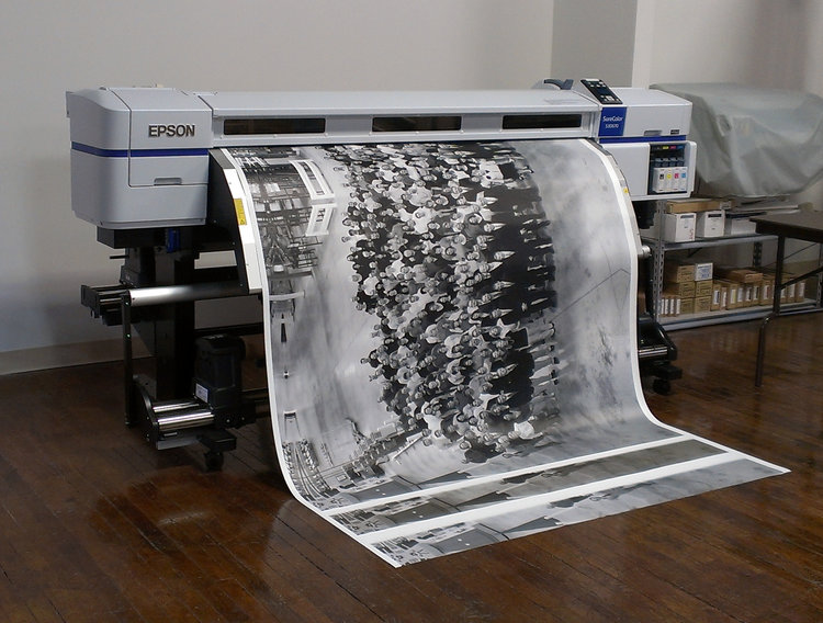 """With virtuoso technique,    large prints can look almost as good as small ones.""  — John Szarkowski"