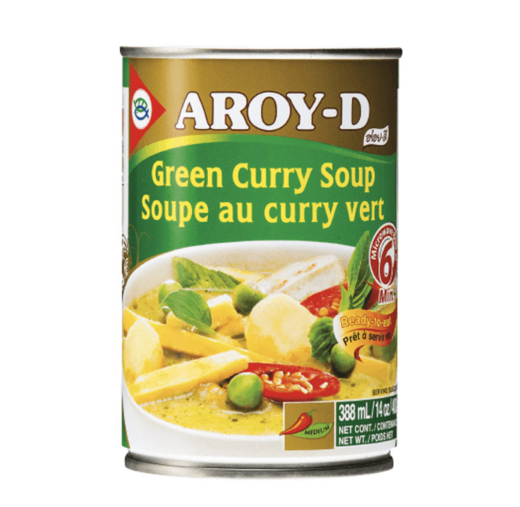 Aroy-D Green Curry Soup — Hong Thai Foods Corp