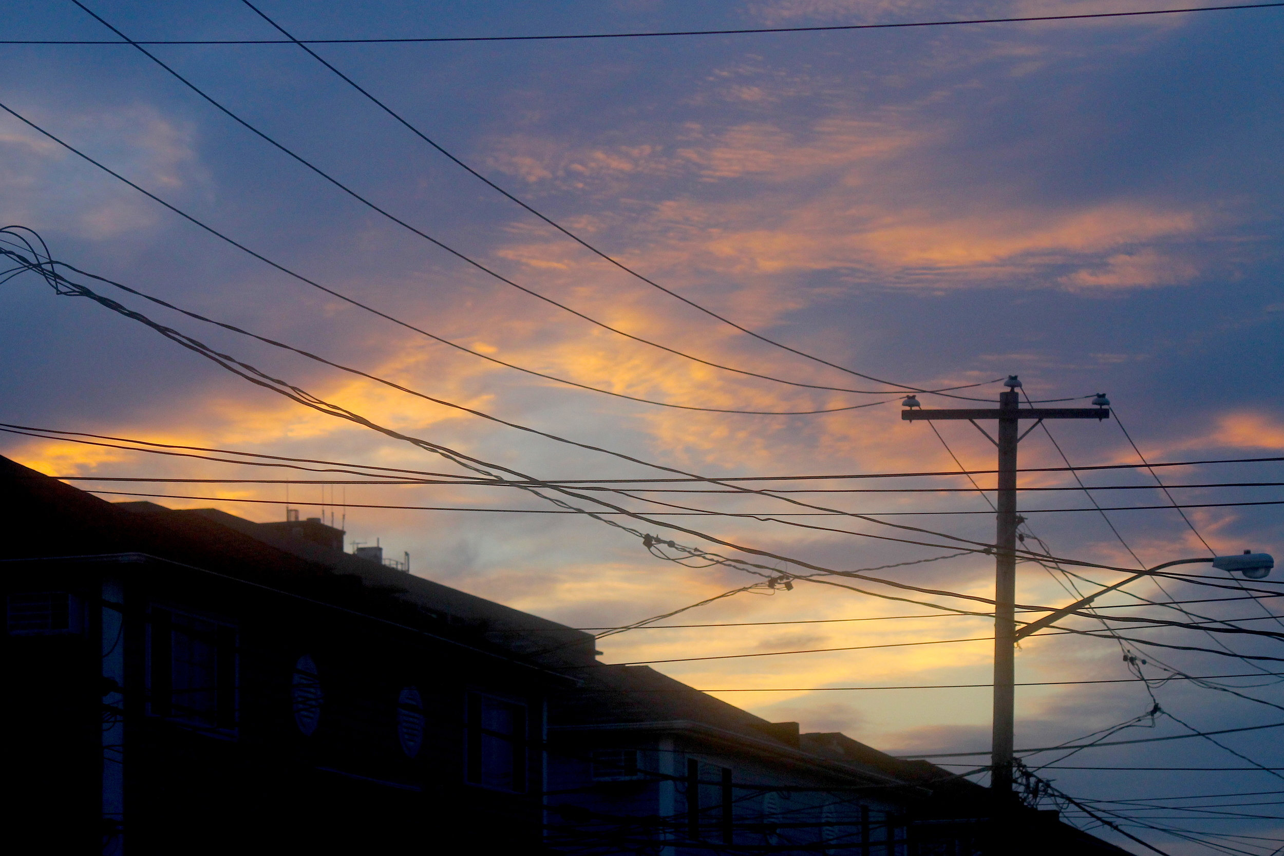 Sunset Over Rockaway Houses