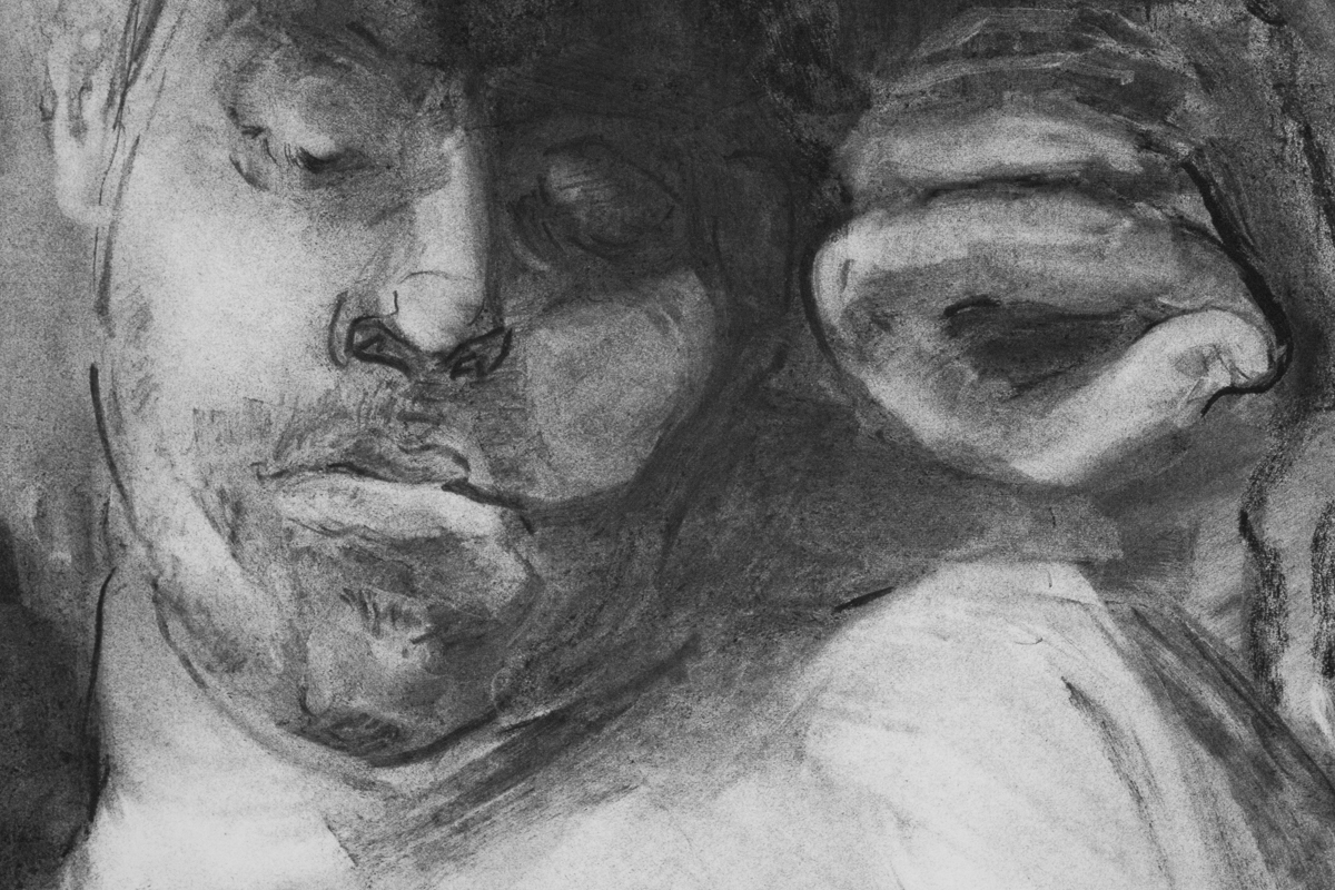 The Sleepers (detail)