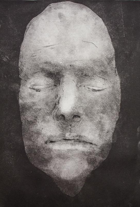 D.B. (Death Mask Series, David Bowie)
