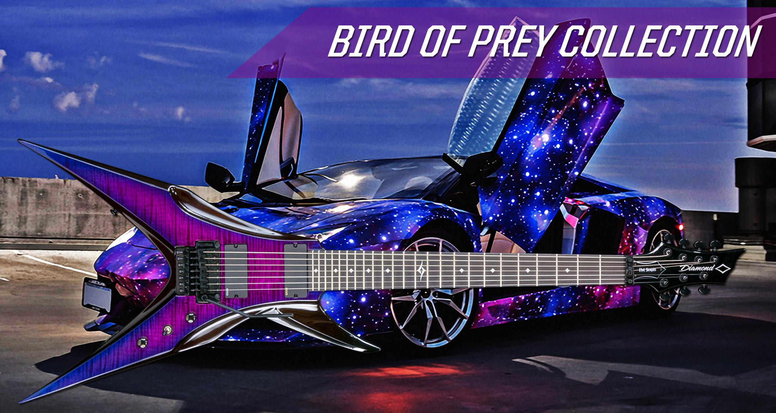 Bird Of Prey Collection Diamond Guitars