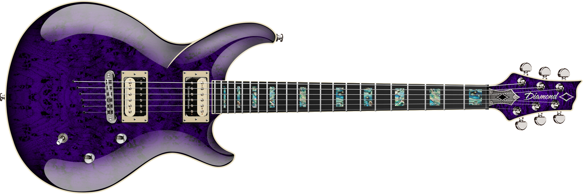Monarch EX - Transparent Purple