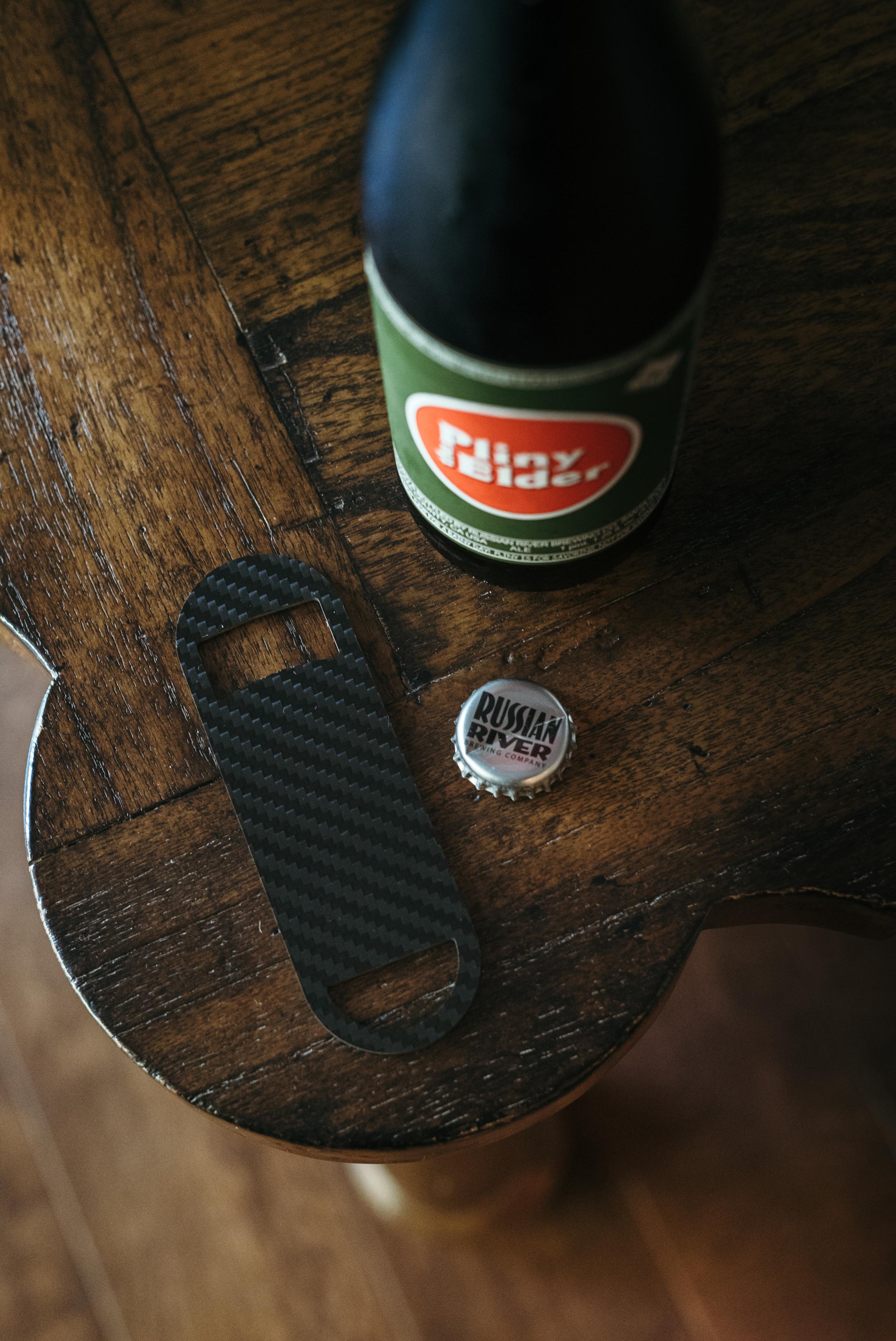 Bartender bottle opener