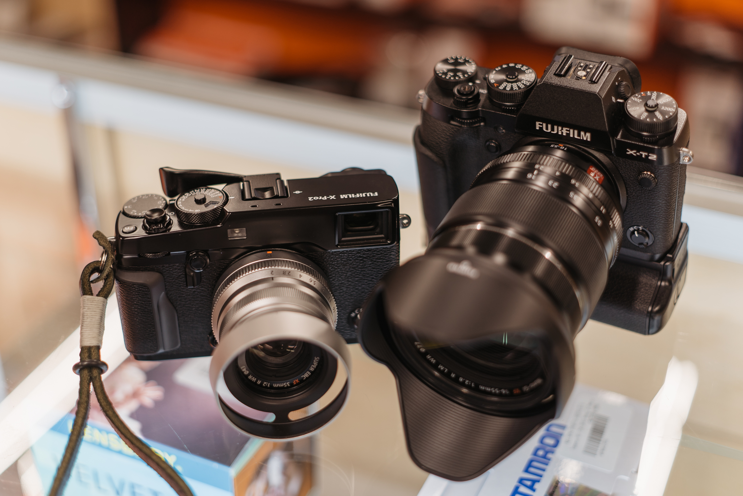 Both are wonderful for different reasons, but the XT-2 is a better package