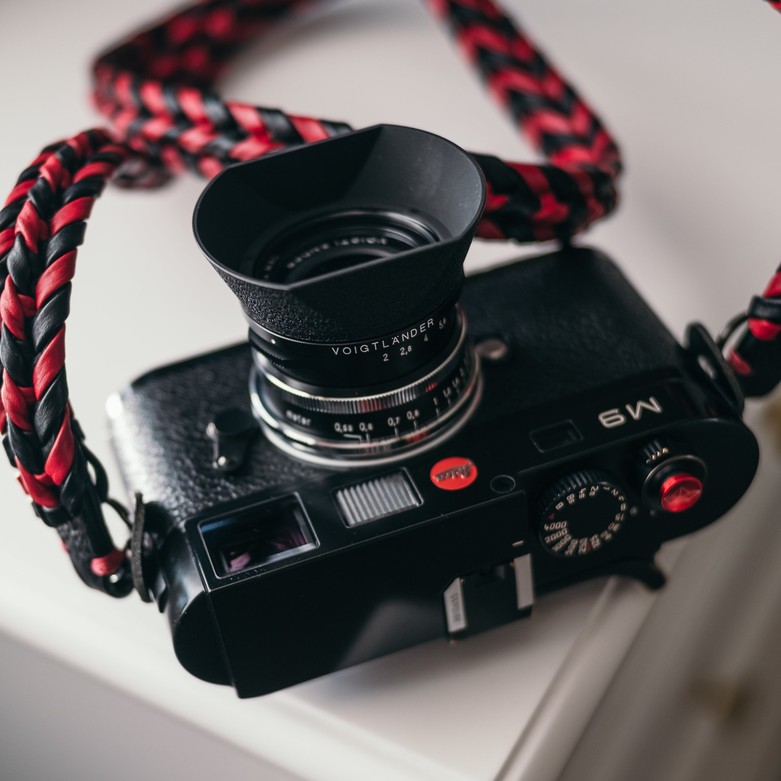 Ultron on Leica M9 with Vi-Vante Ultimate Phoenix strap