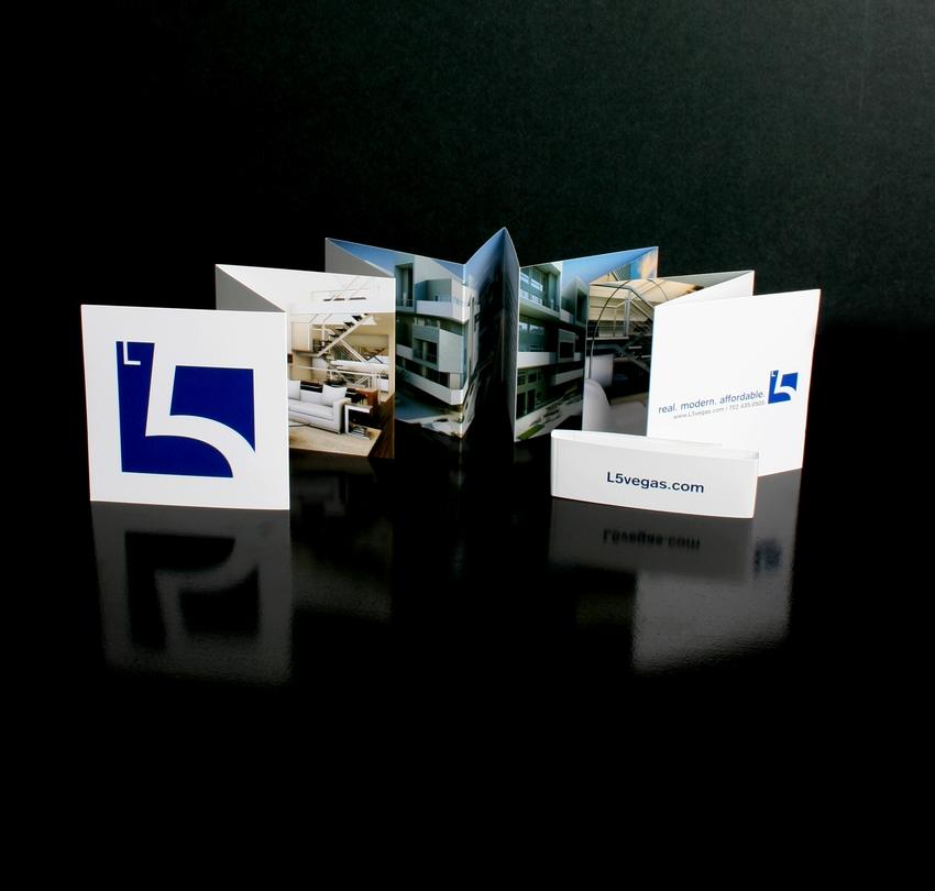 AIGA Award 2007,  Integrated Branding   L5, Las Vegas Condo promotional