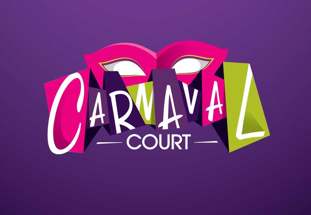 Silver ADDY Award 2014 ,     Logo     Harrahs Carnaval Court Design Director: Gabriel Garcia Designer: Tae K.