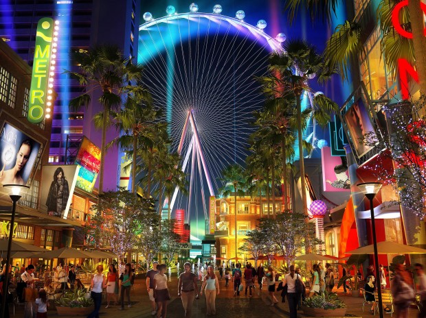 The LINQ Promenade brand initiatives, promotions, social engagement