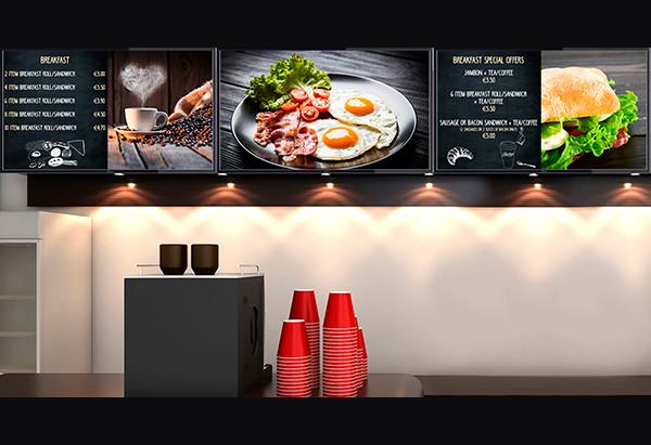 Menús y promociones