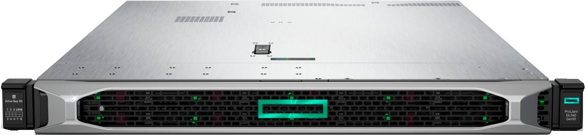 DL360 G10 - Servidor HP (P02148-00)Intel Xeon-B 3106 8-Core (1.70GHz 11MB)16GB (1 x 16GB)PC4-2666V-R DDR4 RDIMM4 x Hot Plug 3.5in Large Form3 años de garantía