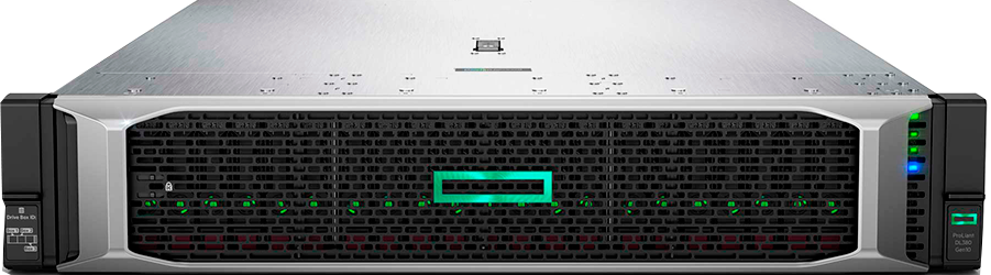 DL380 G10 - Servidor HP (826565-B21)Intel Xeon-S 4114 10-Core (2.20GHz 13.75MB)32GB (2 x 16GB)PC4-2666V-R DDR4 2666MHz RDIMM8 x Hot Plug 2.5in Small Form3 años de garantía