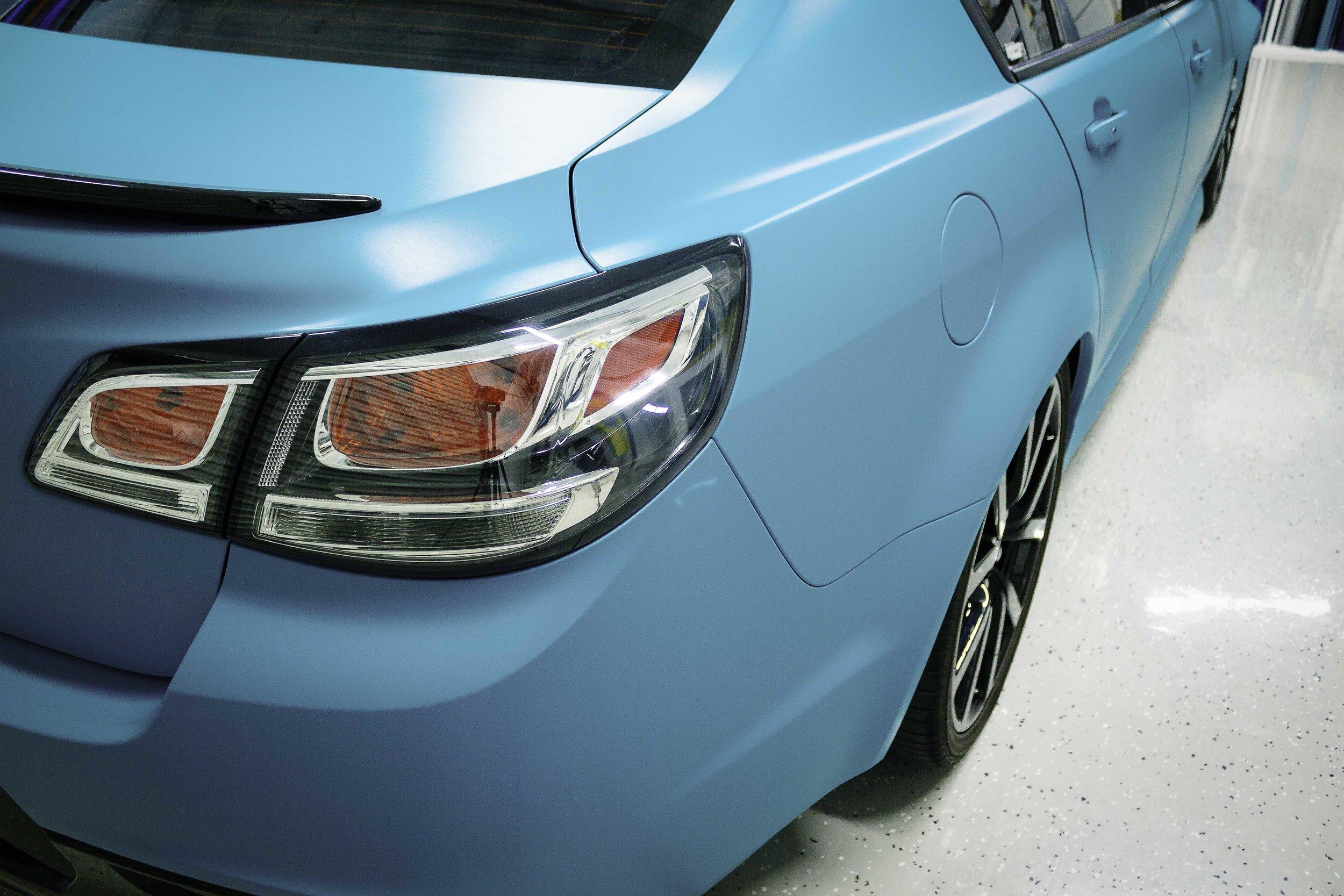 Holden Vf Ssv Sedan Hexis Turquoise Matte Wrapped On