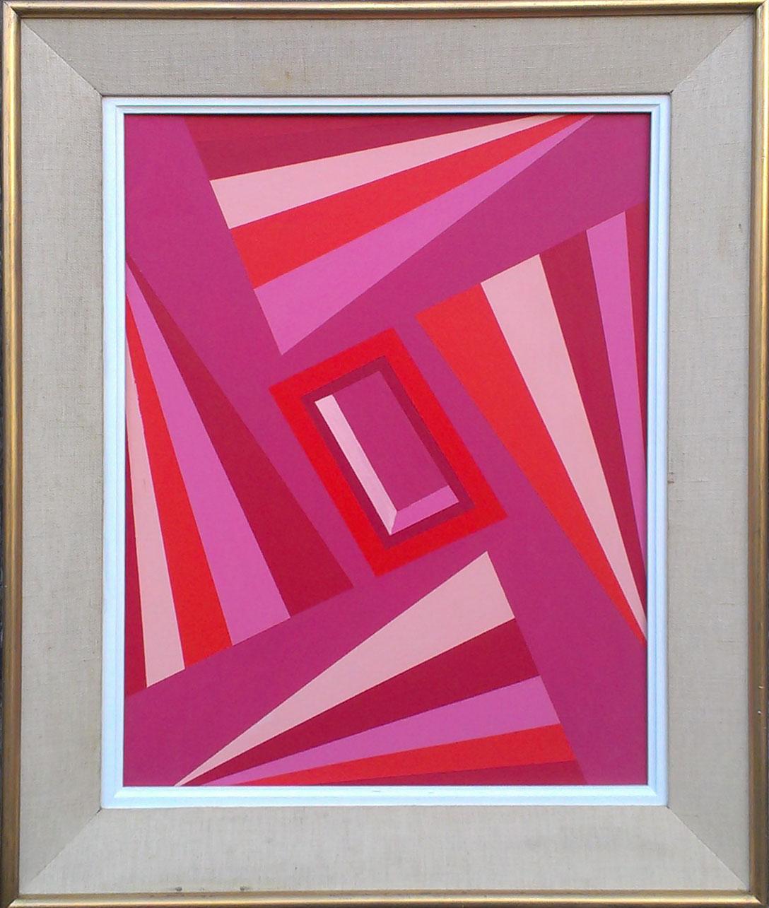 New Dimensions (Pink/orange)