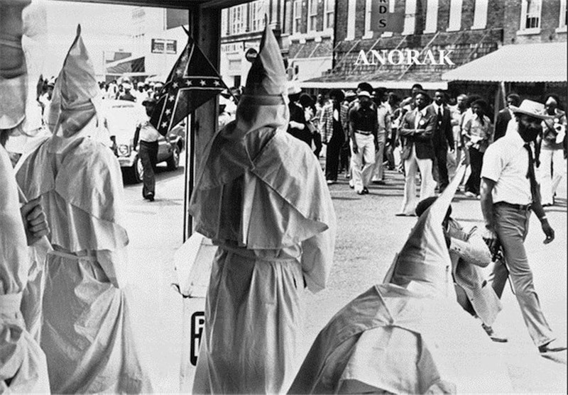 "The Ku Klux Klan saw themselves as the overseers and enforcers of the racial etiquette of the south. ""The Klan is watching!"" They would post on signs to remind black Americans of the consequences for offending the racial caste system."