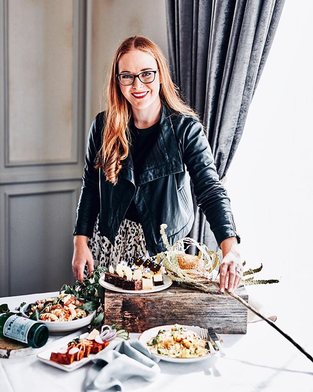 When my own portrait popped up on my feed it certainly caught me by surprise!  Head shot taken by my fave @ironchefshellie on set at @langhammelbourne for a fun little staff bio up now on their page!  Feeling super grateful to be doing what I love and to be working with a wonderful group of people on some exciting projects! Delish food created by @chefdeepakmishra
