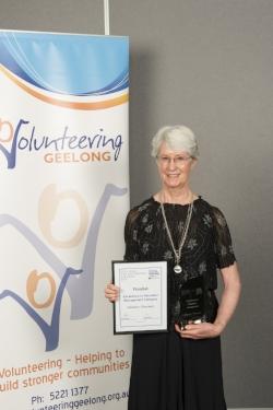 Pauline Tournier win Excellence in volunteer man (unpaid role).jpg