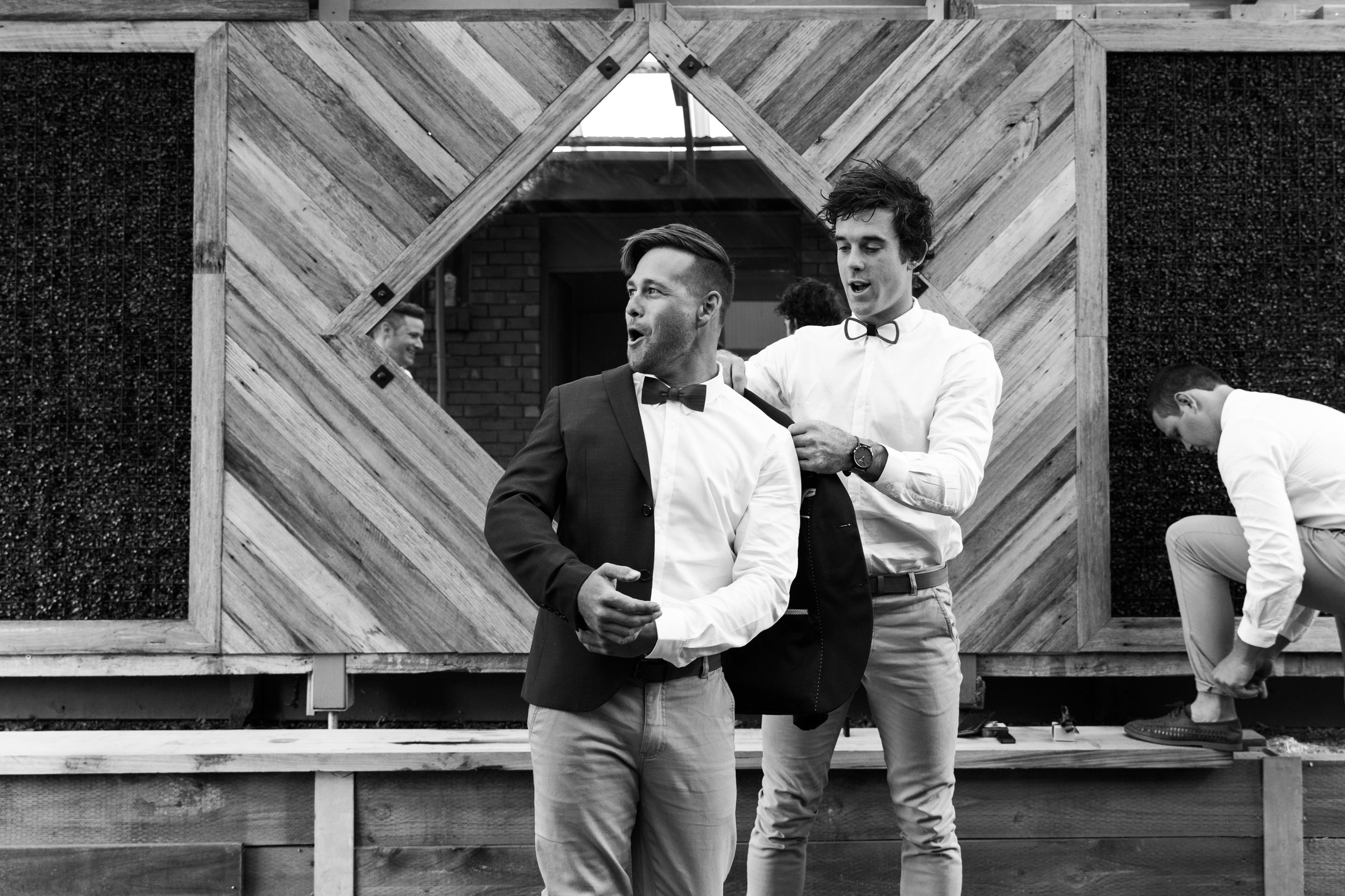 Geelong Wedding Photography| Groom Prep