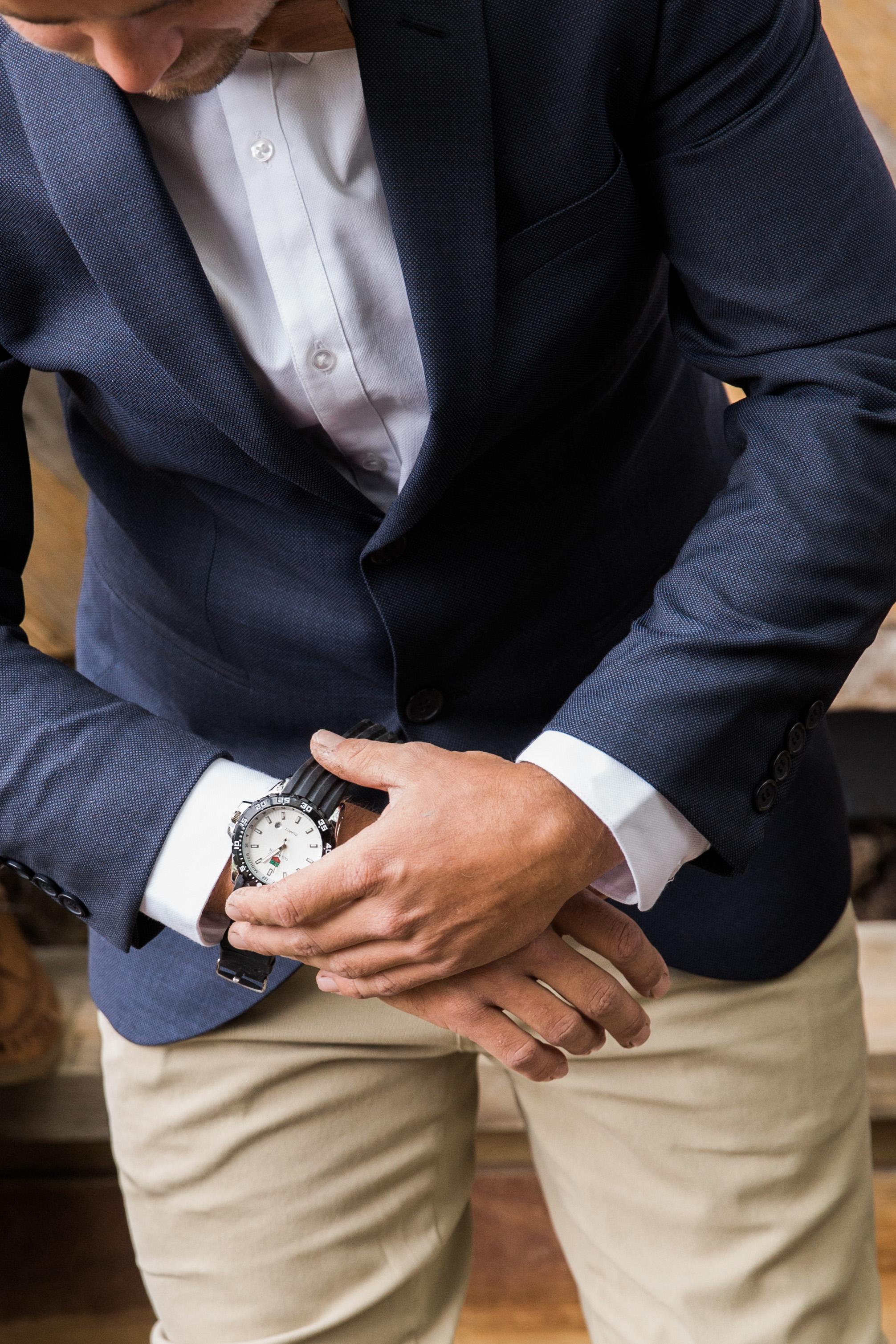 Geelong Wedding Photography | Groom Prep
