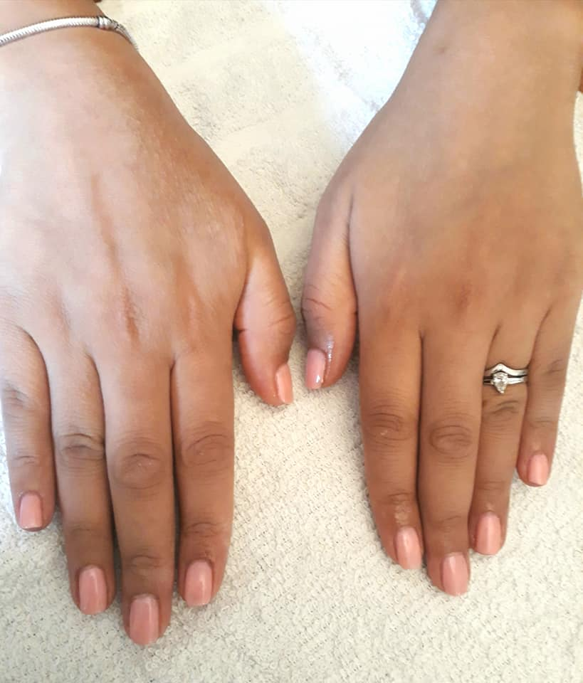 """Toni did my very first gel nail manicure, and what a fantastic job she did too! The finish was superb and they didn't chip at all, even when I went on holiday and was in and out of the pool etc. She is lovely to chat to, very professional and I highly recommend her."""