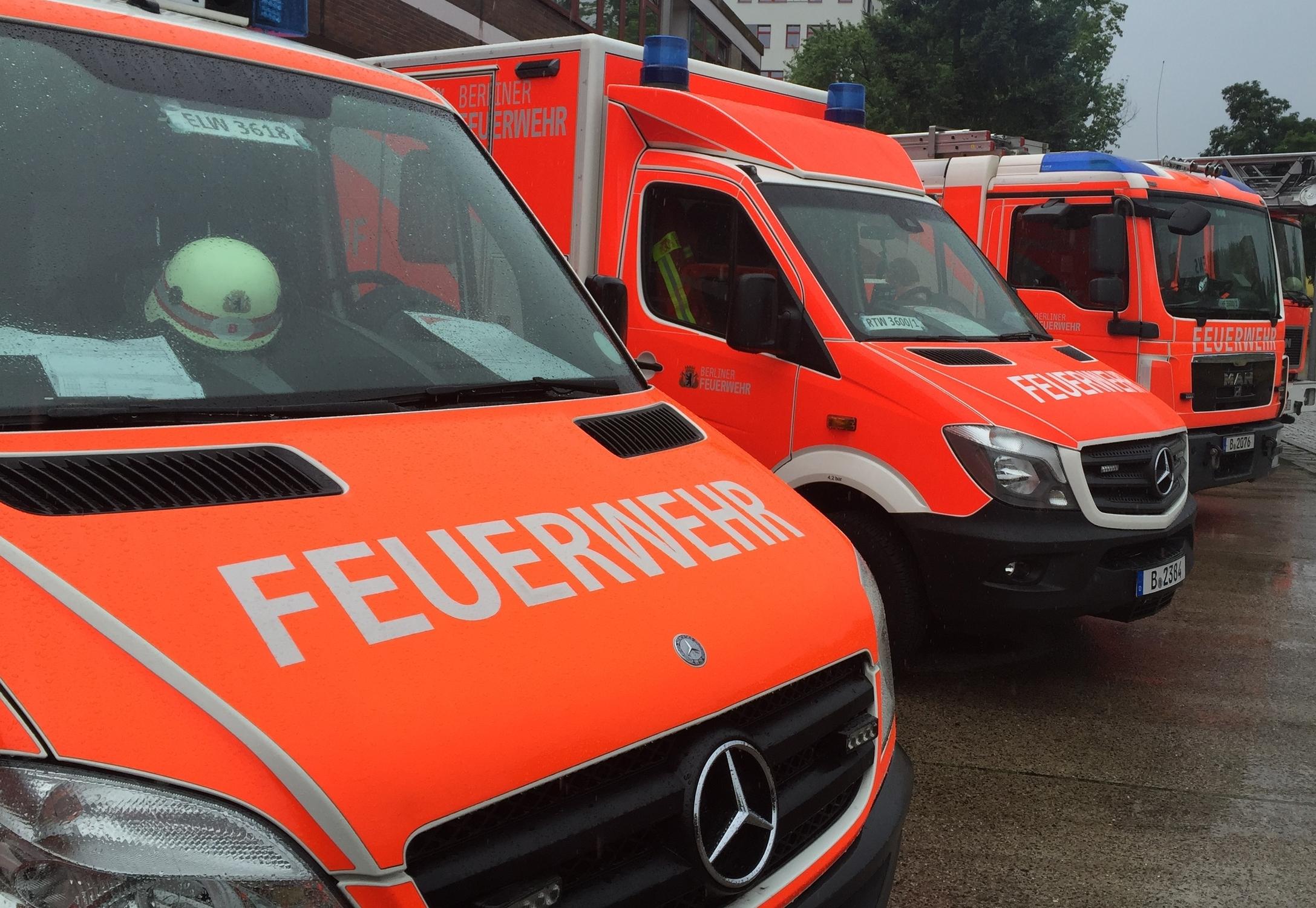Berliner Feuerwehr - C: Benedikt Lux