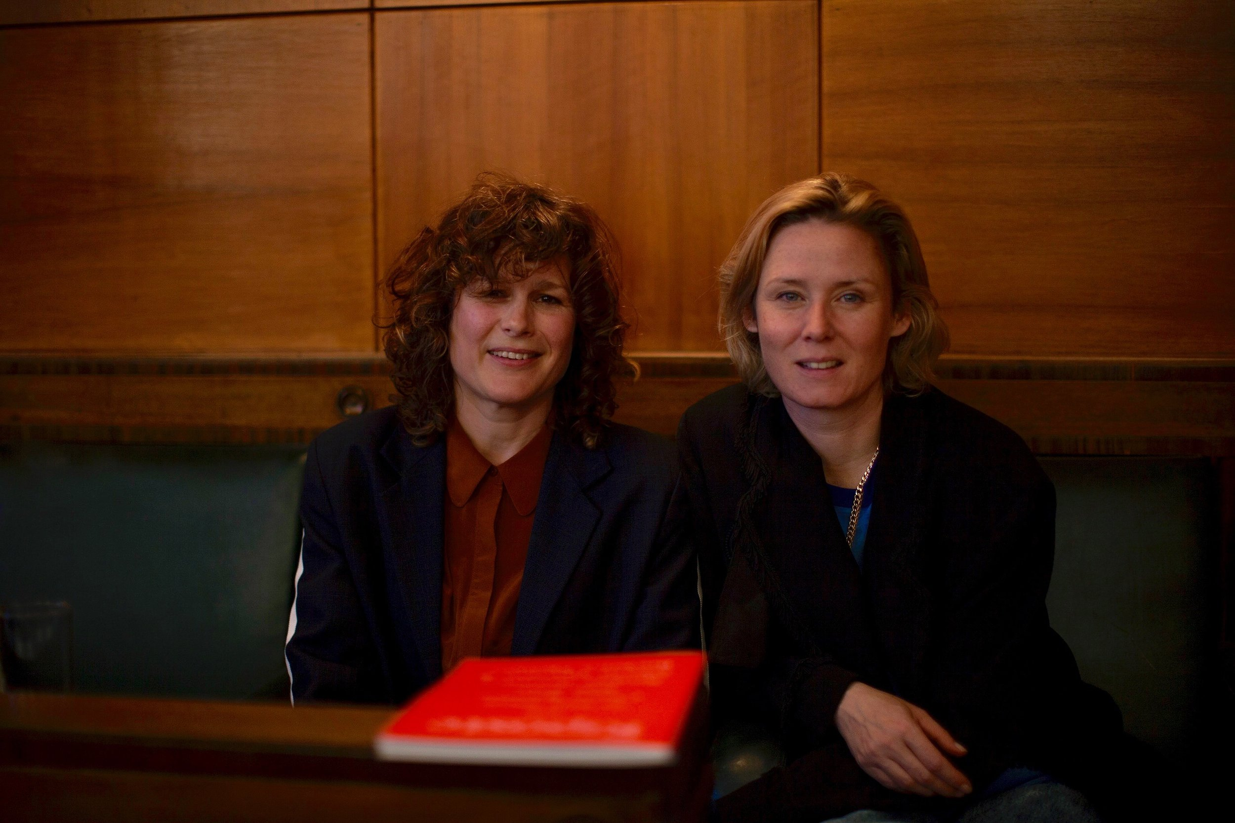 Dawn Shadforth and Roisin Murphy