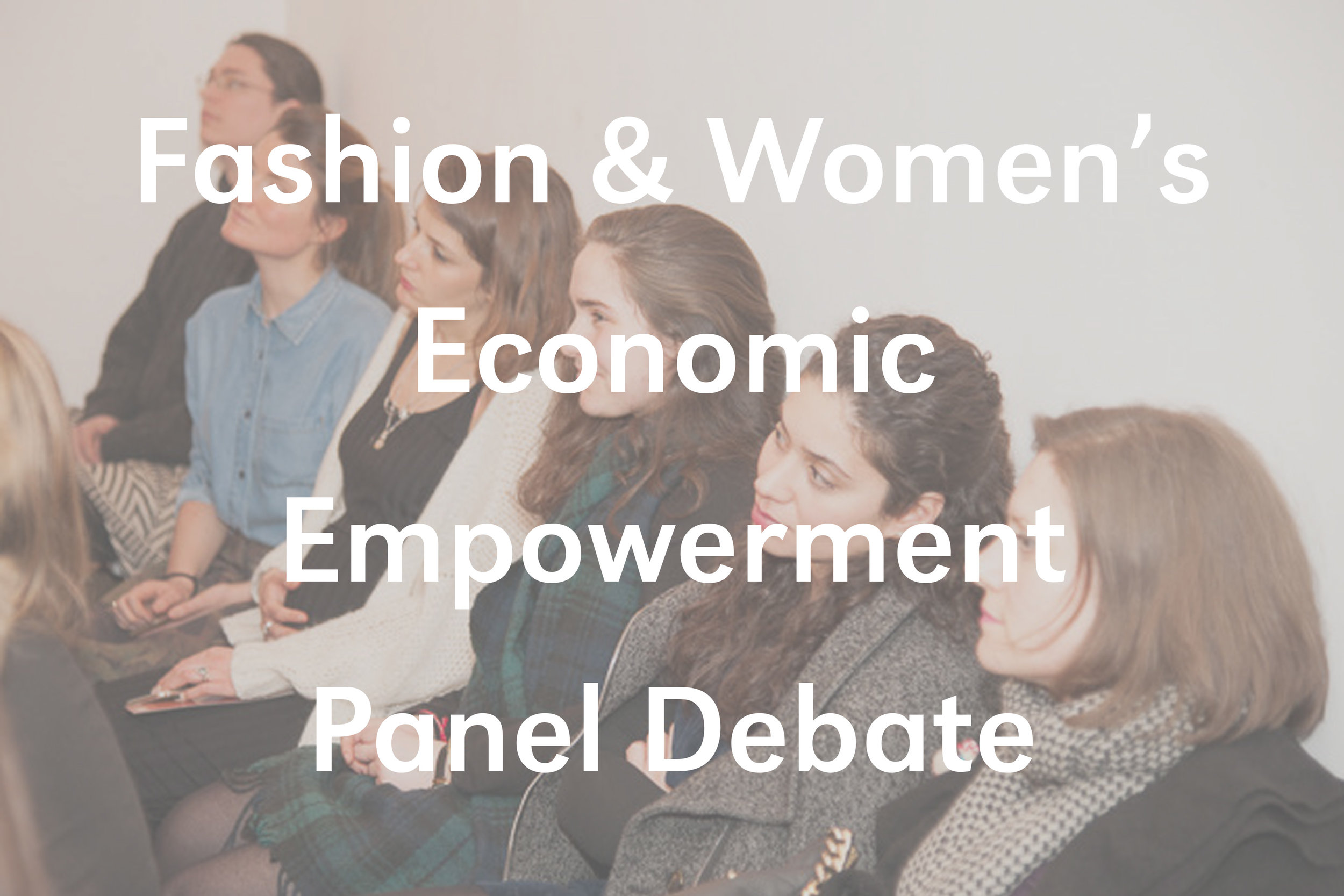 Fashion and Women's Economic Empowerment Debate