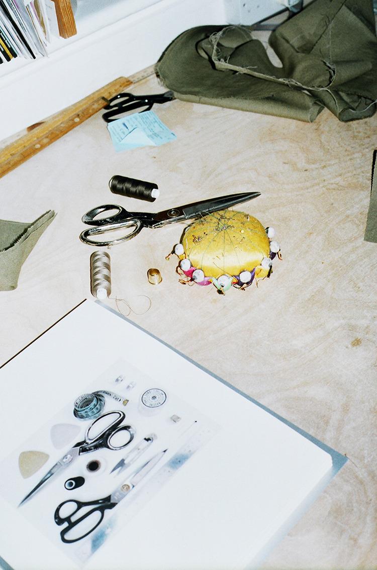Anderson & Sheppard workshop, shot by Francesca Allen