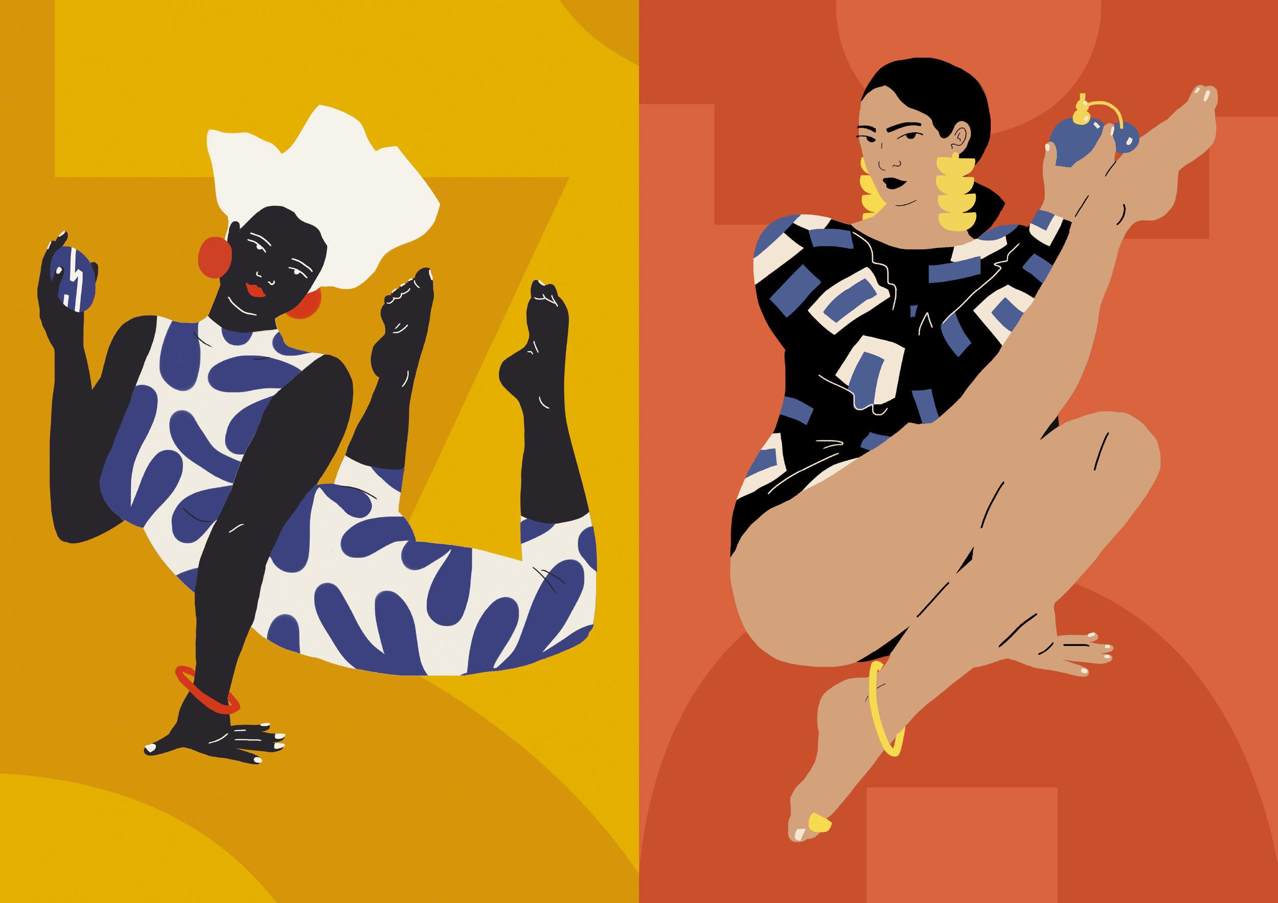 Illustrations by Dai Ruiz