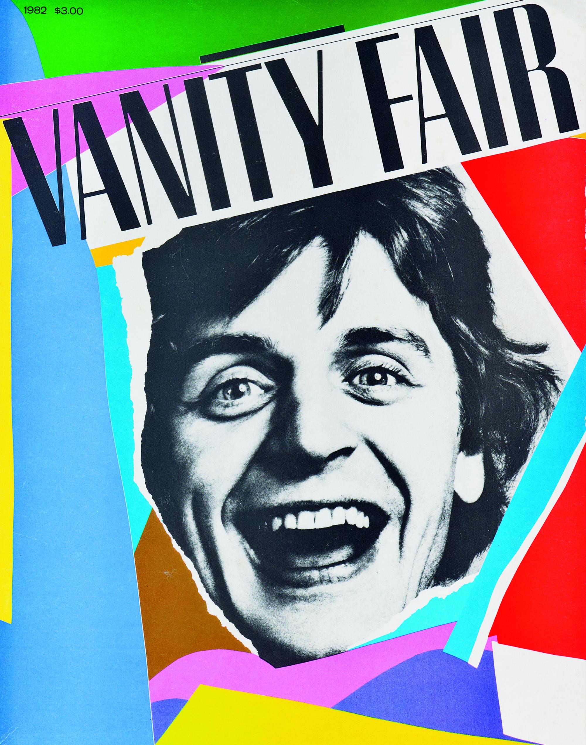 Bea Feitler cover for Vanity Fair.