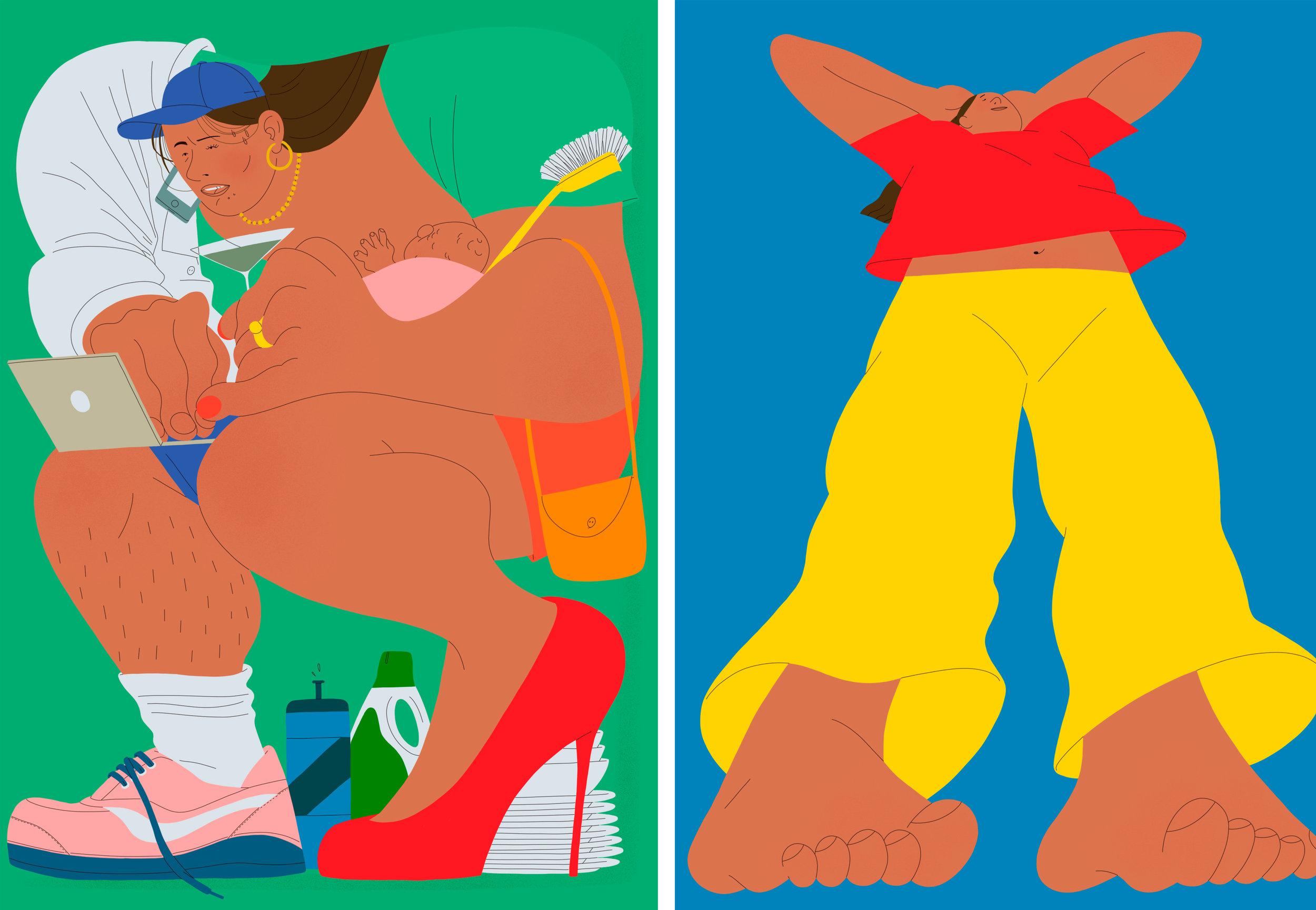 Illustrations by Alva Skogg
