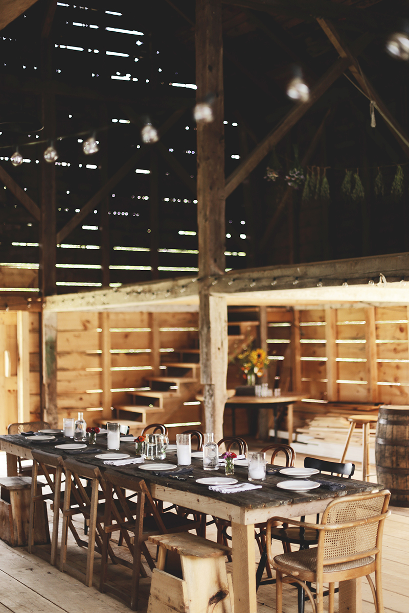 High Ridge Farm barn Montville Maine