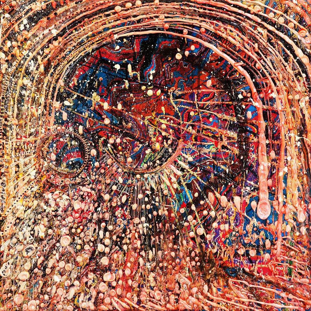 Acrylic on canvas 100x100cm
