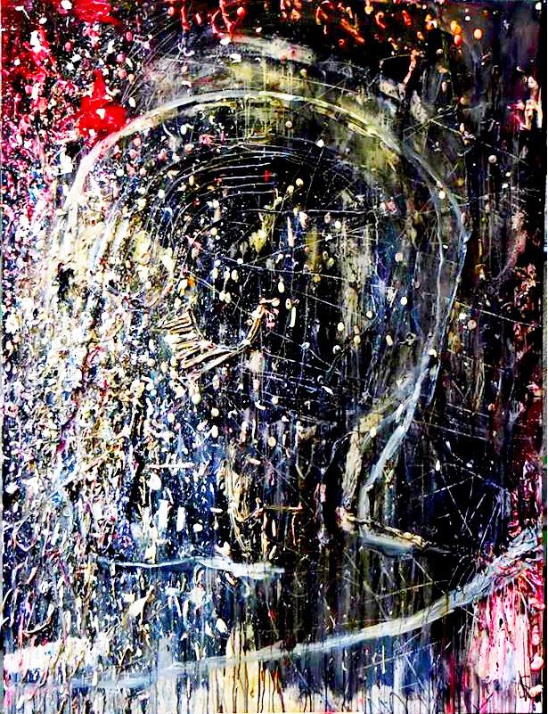 Acrylic on canvas 200x150cm