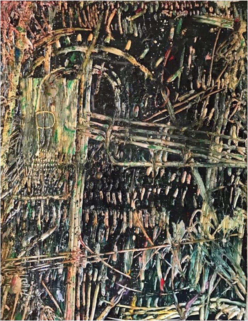 Acrylic on Canvas 180x140cm