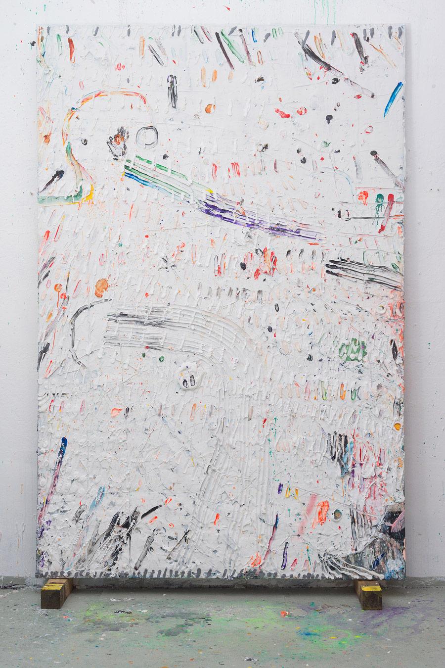 Acrylic on canvas 300x200cm