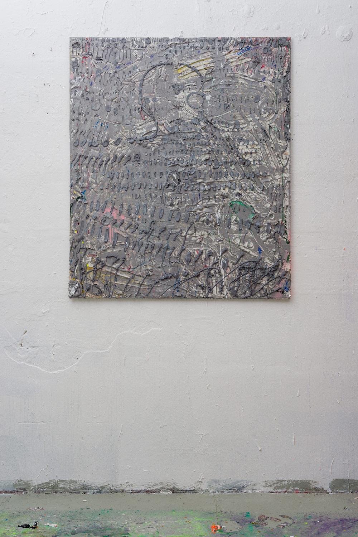 Acrylic on canvas 140x120cm