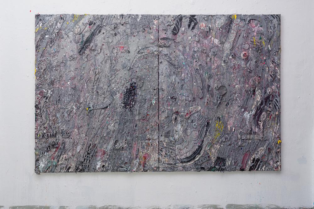 Acrylic on canvas 180x280cm