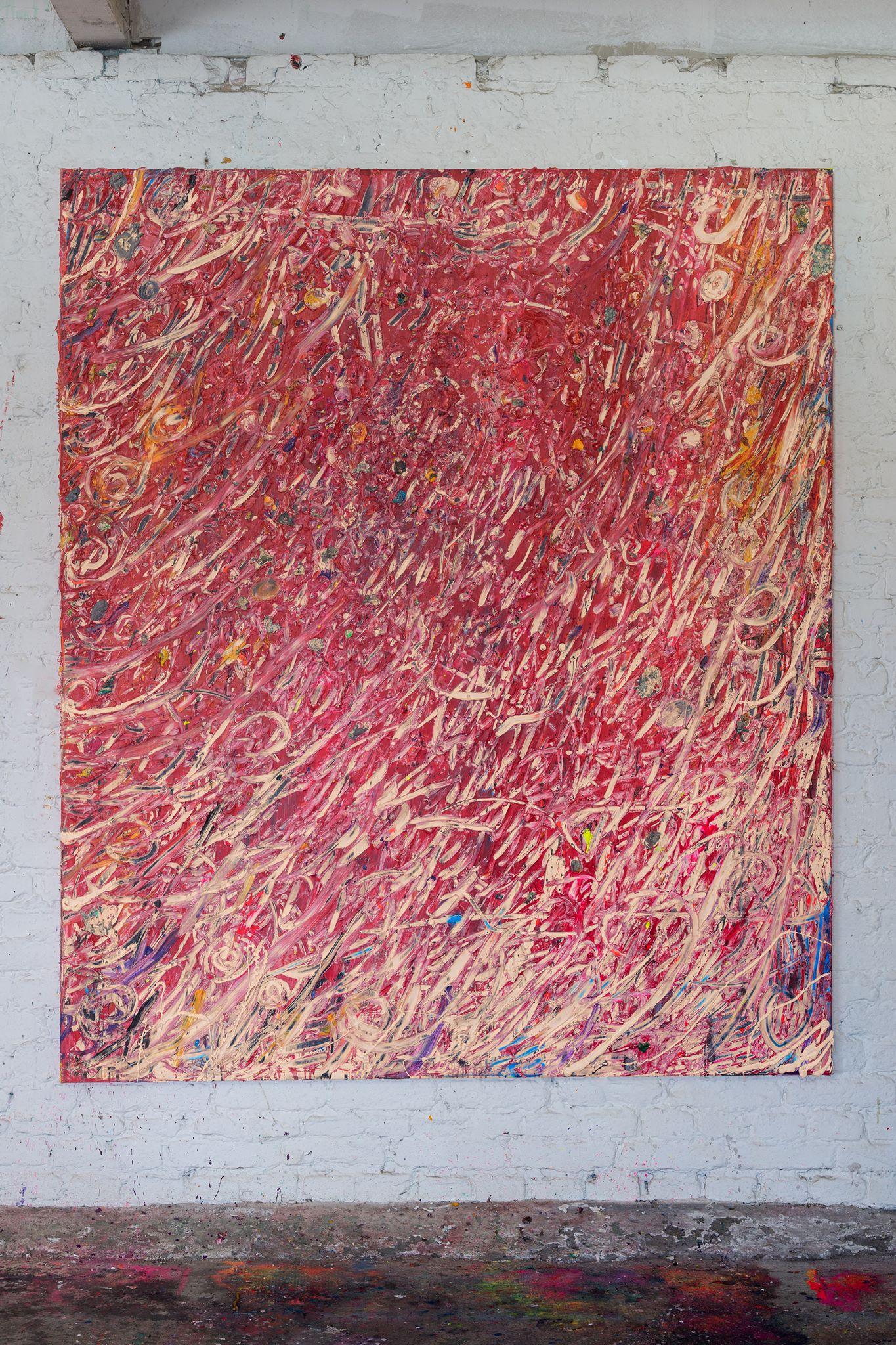 Mixed media on canvas 180x160cm