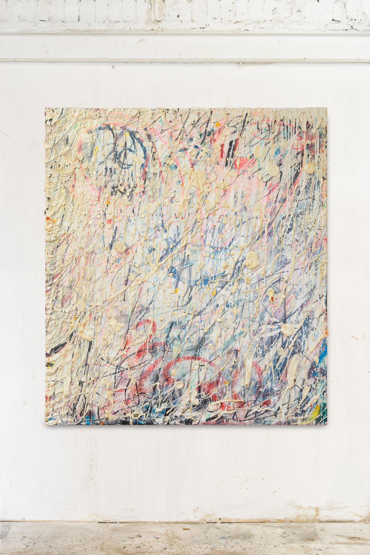 Mixed media on canvas 170x150cm