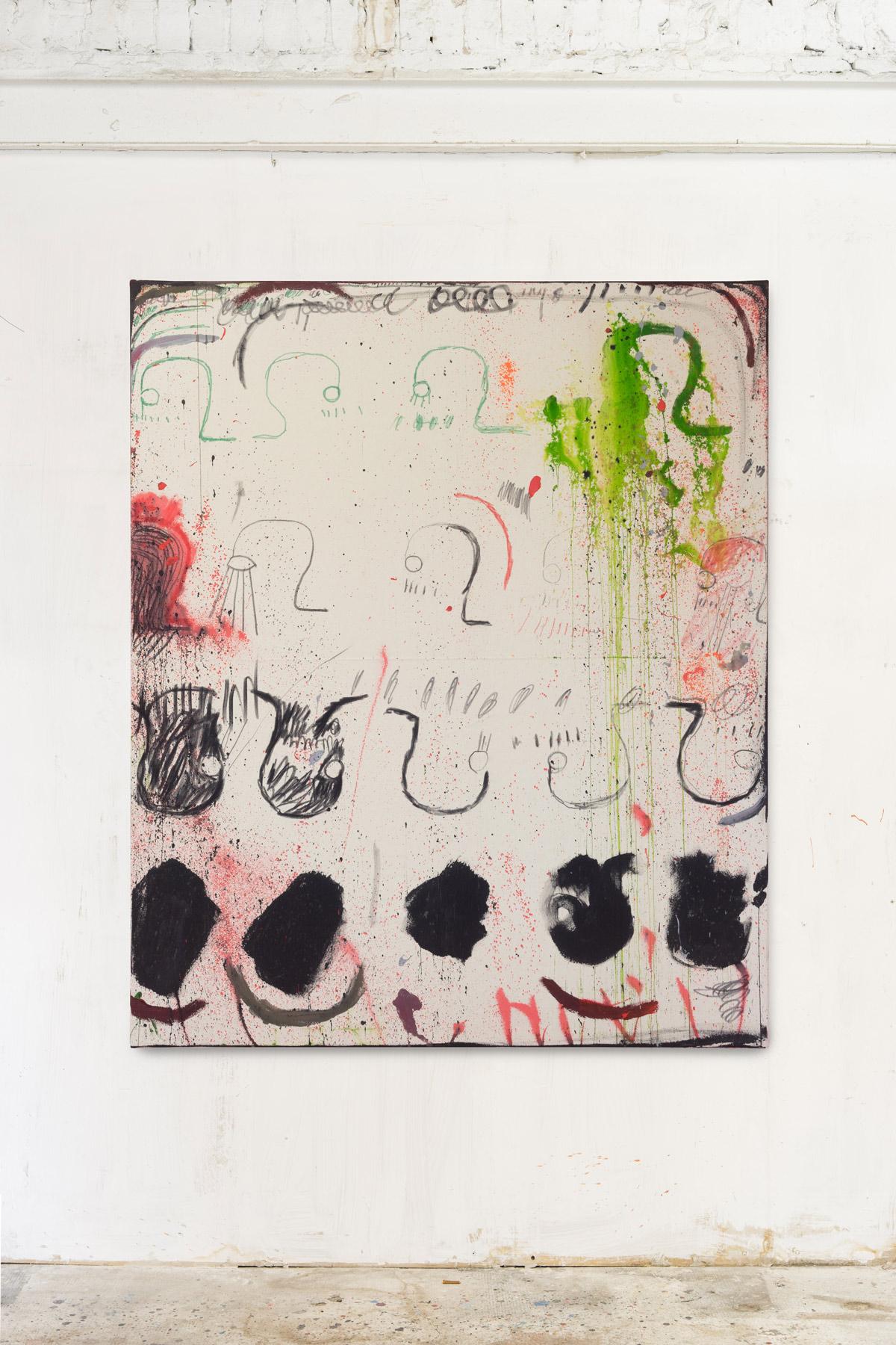 Mixed media on canvas 160x140cm