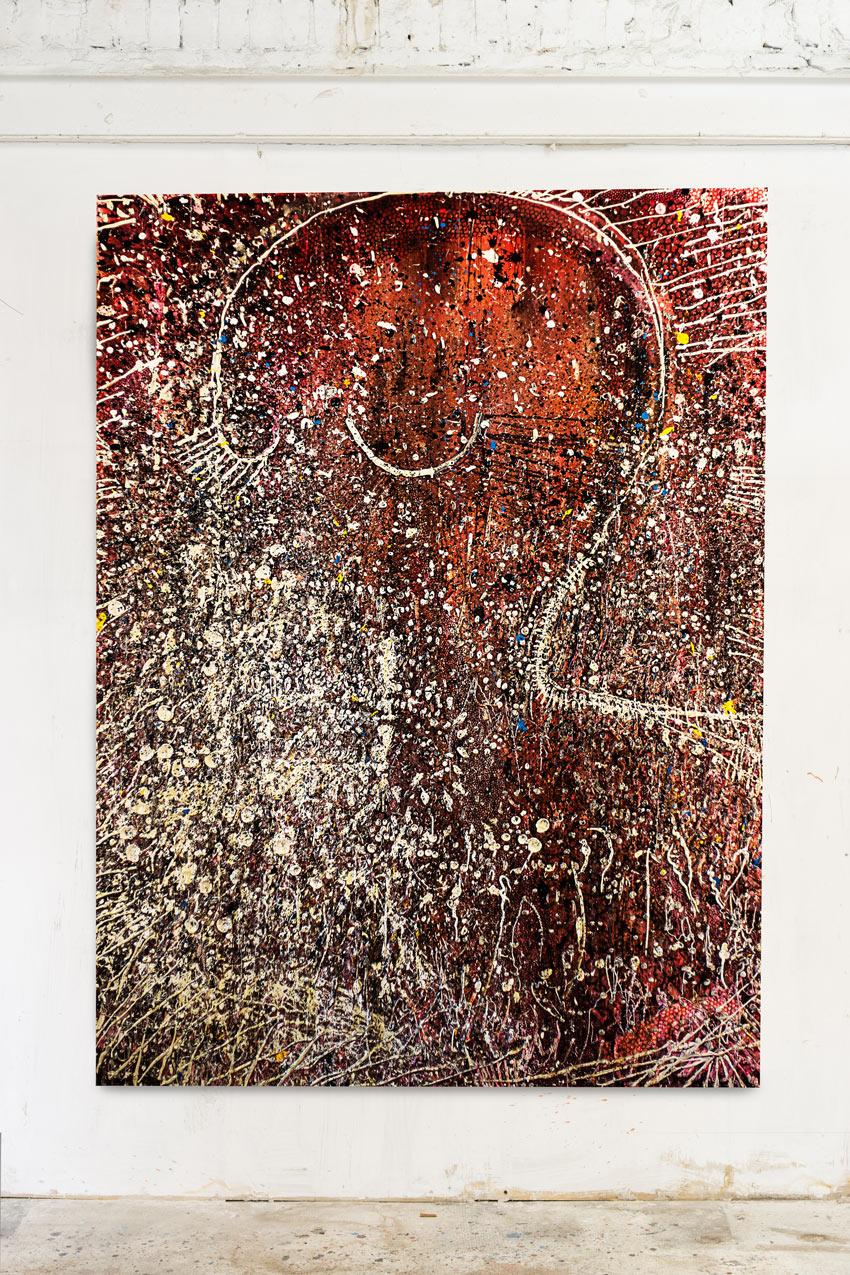 Acrylic on canvas 259x190cm