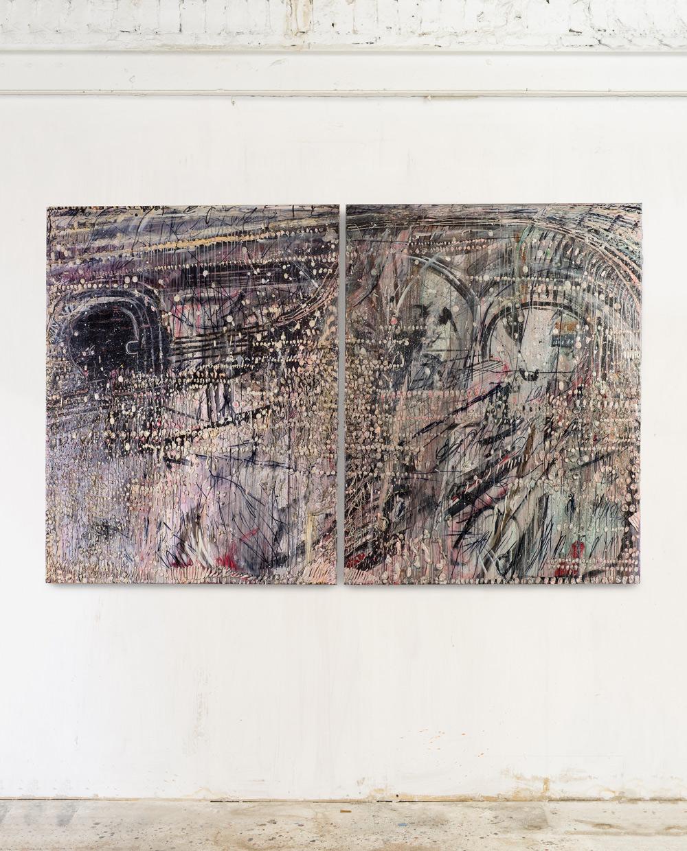 Acrylic on canvas 185x280cm