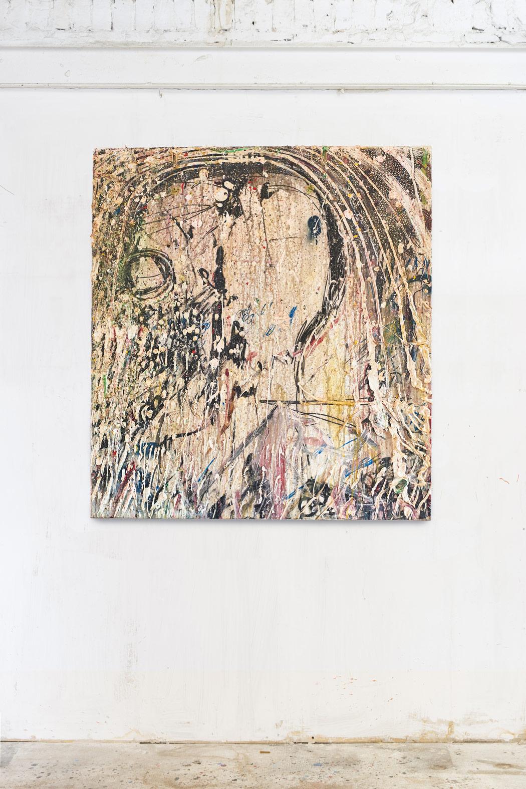 Acrylic on canvas 110x90cm